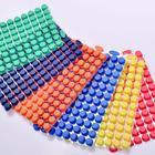 GEB96孔深孔板硅胶片 样品管管盖硅胶片 可分离 适用于1.3ml圆孔深孔板 CSMATR-9-R
